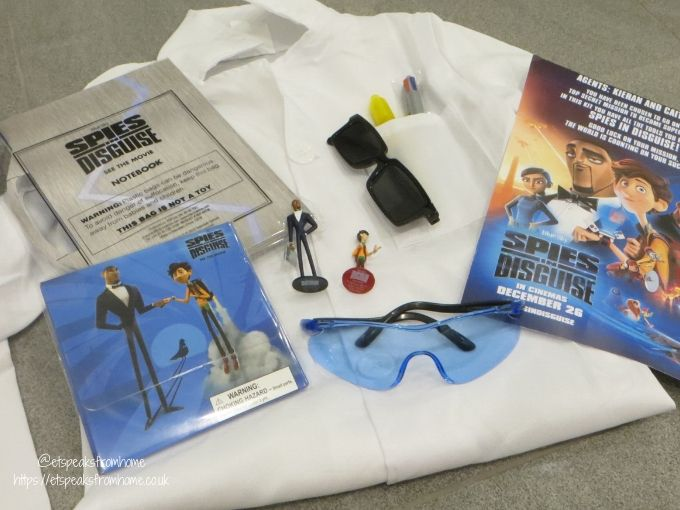 Spies in Disguise Movie gift