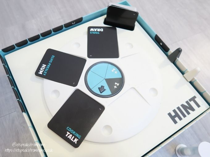 Get A HINT board game wheel