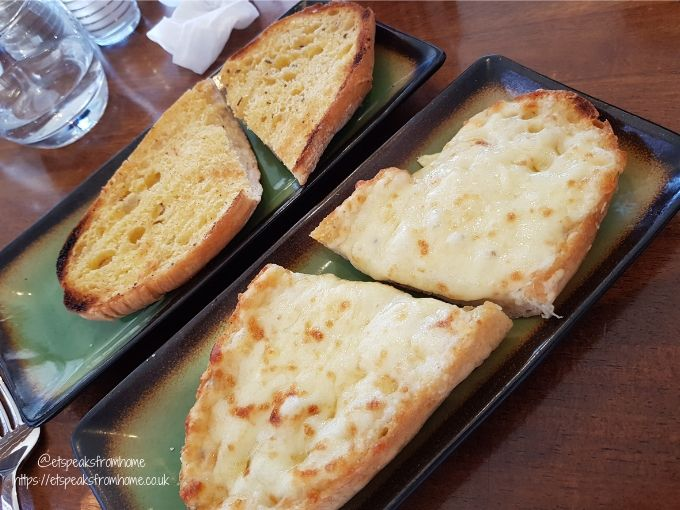 grow festival 2020 olive resturant garlic bread