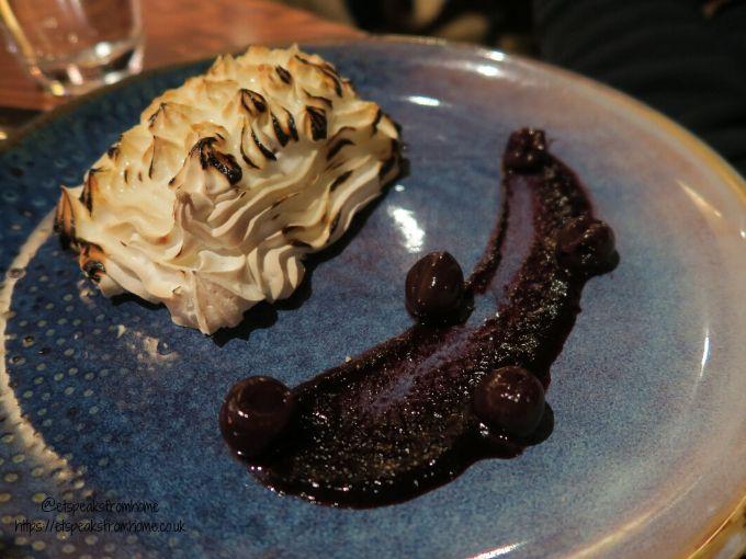 kettering park hotel dinner dessert
