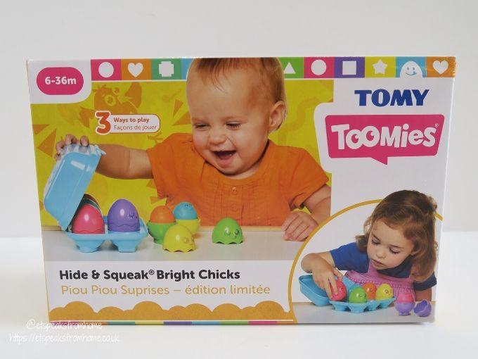 tomy toomies Bright Chicks