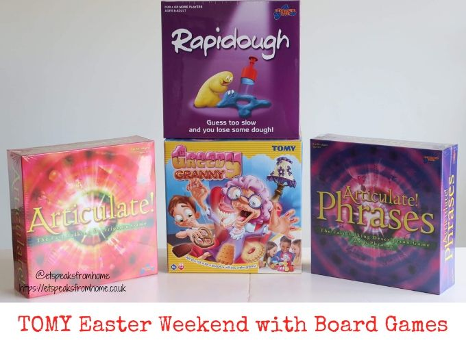 TOMY Easter Weekend with Board Games