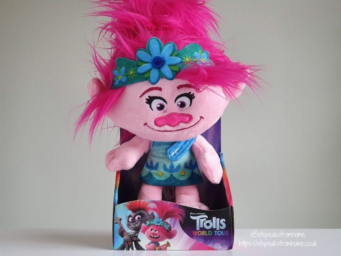 Trolls World Tour doll with light