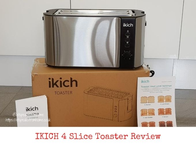IKICH 4 Slice Toaster Review
