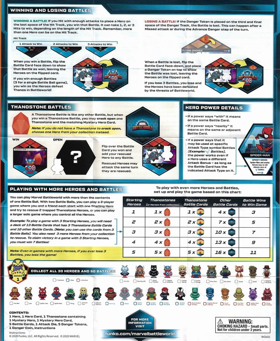 Marvel Battleworld Mystery of The Thanostones instructions 2