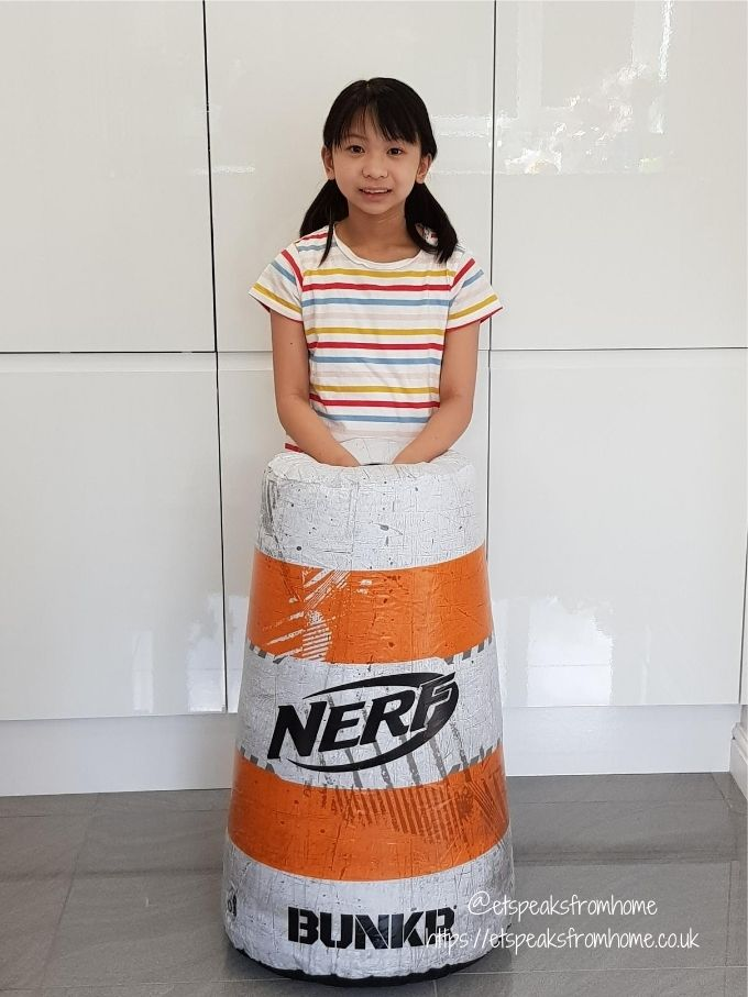Nerf BUNKR Battle Zone System traffic cone