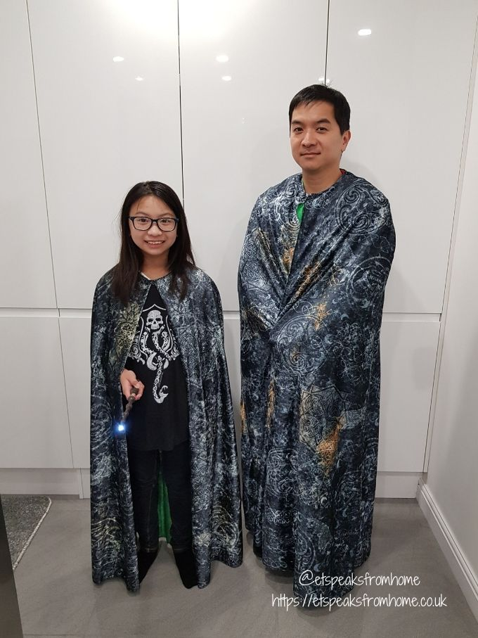 Harry Potter Junior Invisibility Cloak and adult