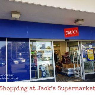 Shopping at Jack's Supermarket castle brom