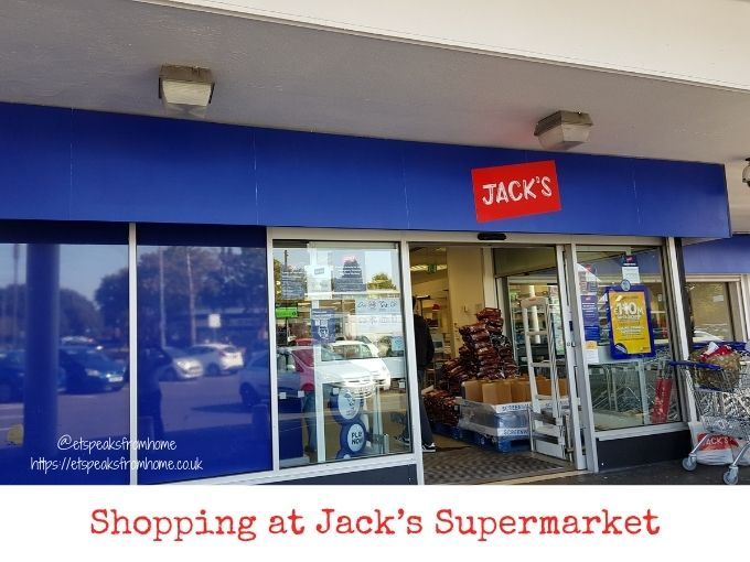 Shopping at Jack's Supermarket castle brom