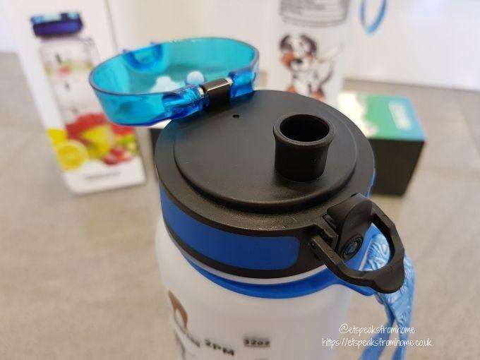 64Hydro Premium Infuser Water Bottle cap