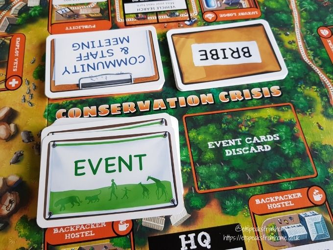 Conservation Crisis cards placement