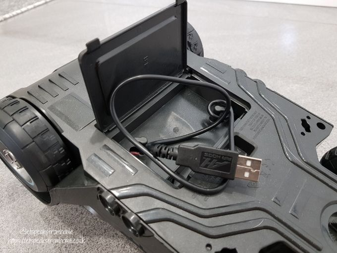 Launch and Defend Batmobile usb cable
