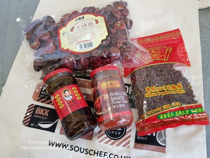 SousChef Authentic Chinese Cooking chilli
