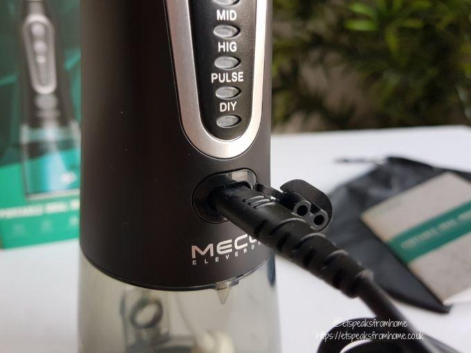 Meco Eleverde Oral Irrigator charger