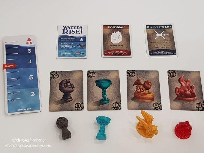 Forbidden Island cards