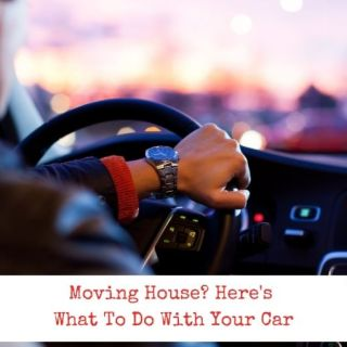 Moving House? Here's What To Do With Your Car