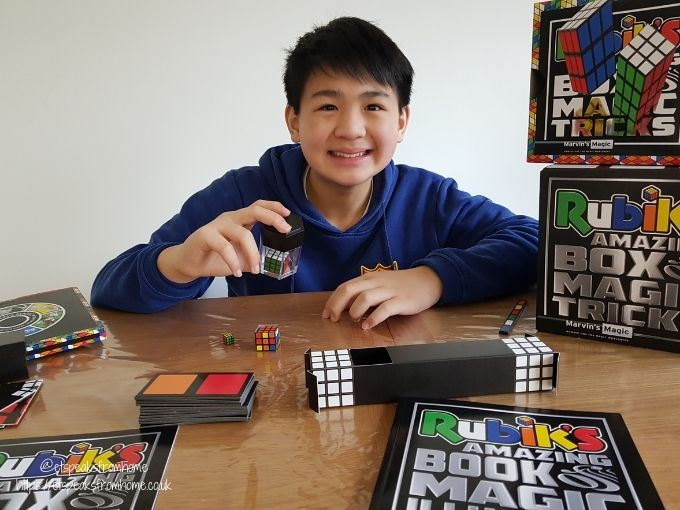 Rubik's Amazing Box of Tricks playing