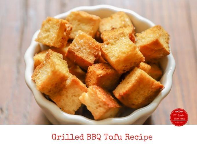 Grilled BBQ Tofu Recipe