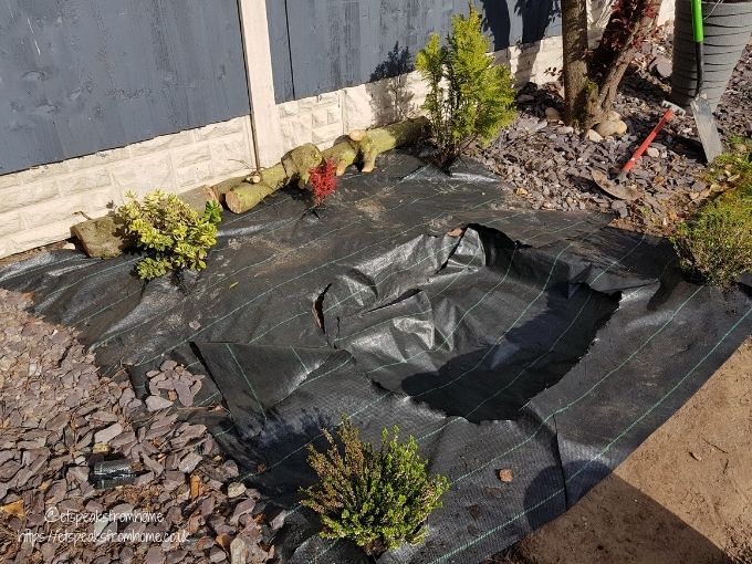 how to build nature wildlife pond weed liner