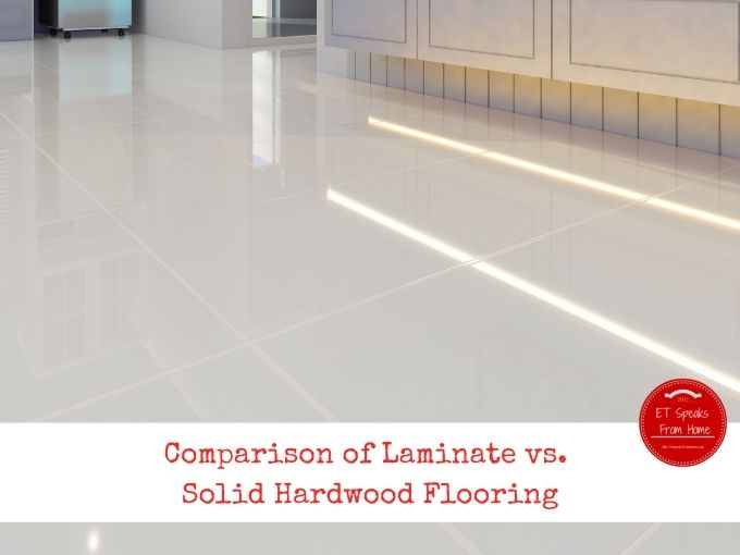 Comparison of Laminate vs. Solid Hardwood Flooring