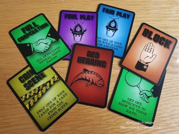 foul play card game manor murder cards