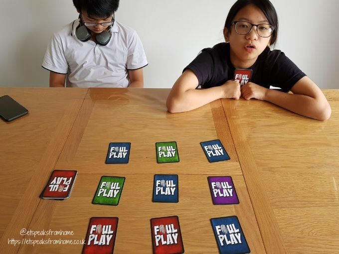 foul play card game playing