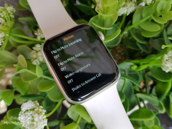 Watchd Smartwatch motion