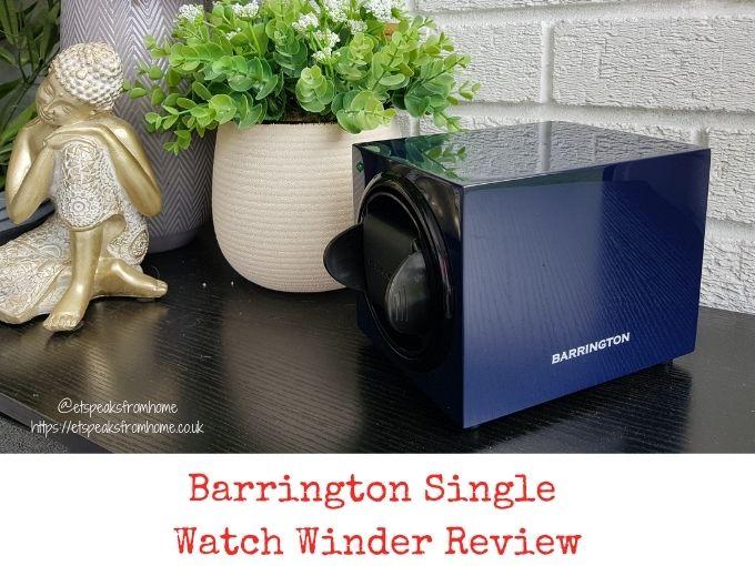 Barrington Single Watch Winder Review