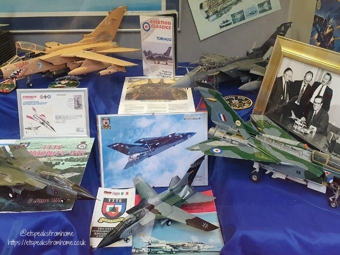 Midland Air Museum models