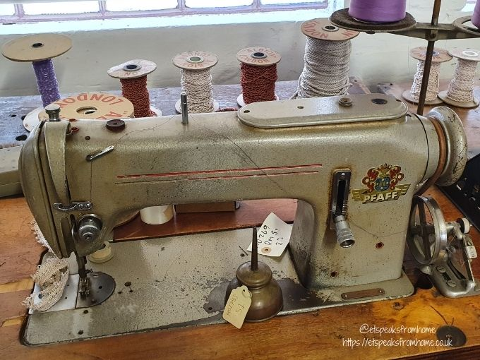 the coffin works sewing machine