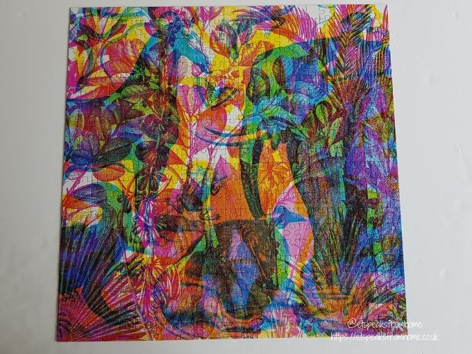 Carnovsky Jungle Jigsaw Puzzle completed