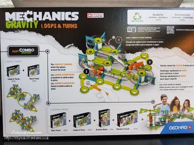 Geomag Mechanics Loops & Turns expand sets