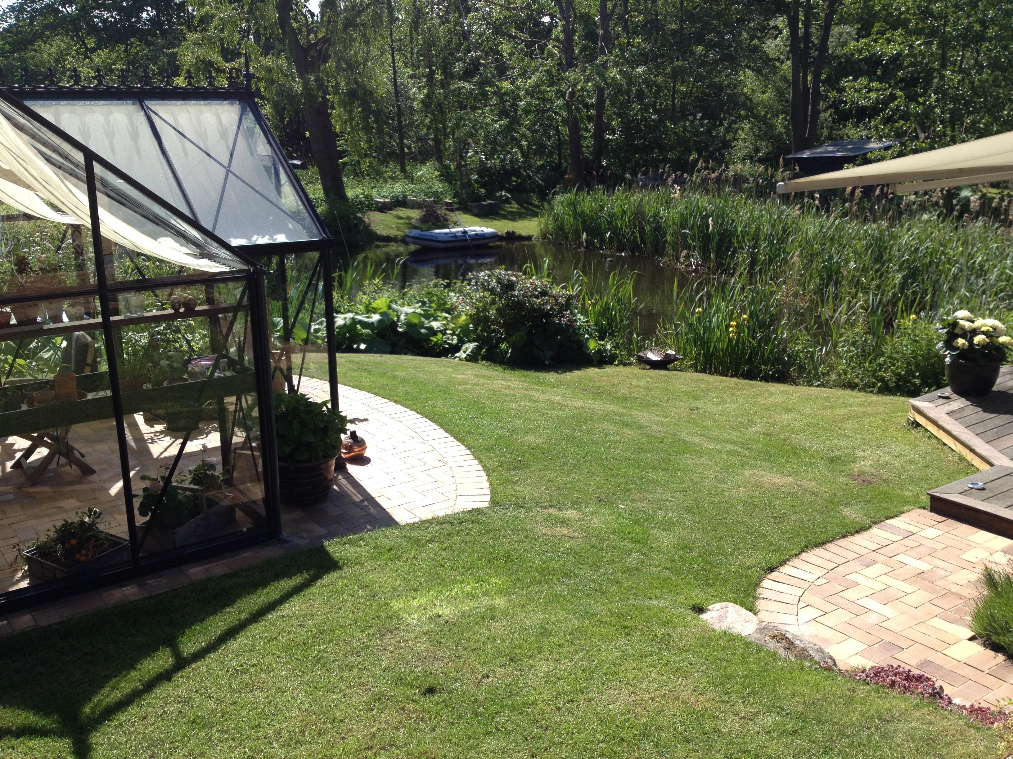 Ny have med stålkanter og klinker