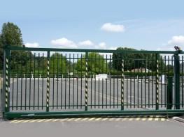 Portail industriel Ets Thomas dans l'Indre