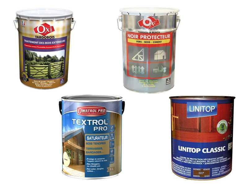Lasure et traitement divers pour l'entretien de la maison dans notre rayon droguerie et peinture