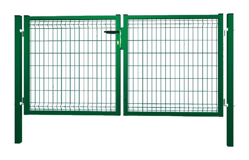 Portail pour clôture grillage