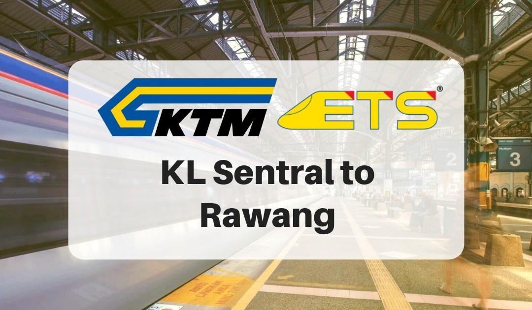 KL Sentral to Rawang