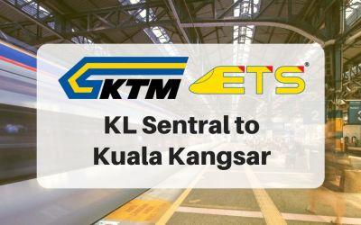 KL Sentral to Kuala Kangsar