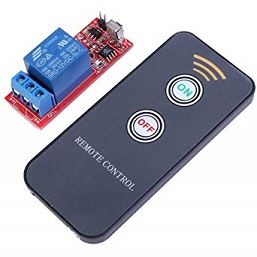 IR REMOTE WITH RELAY