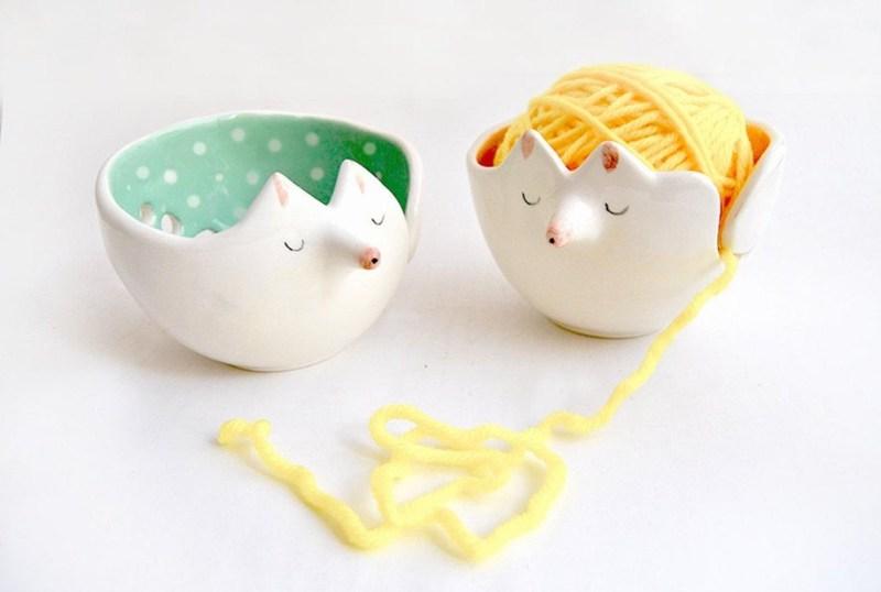 Barruntando yarn bowls