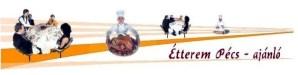 Az Étterem Pécs fejléce
