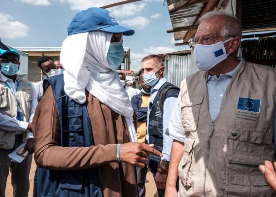 Visit of Josep Borrell Fontelles, Vice-President of the European Commission and Janez Lenarčič, European Commissioner to Ethiopia