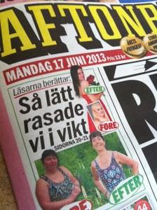 Aftonbladet vikt