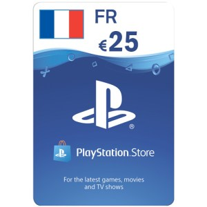 PlayStation Network Gift Card 25 EUR PSN FRANCE