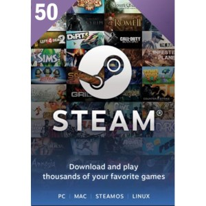 Steam Gift Card 50