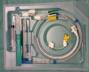 Kit de pose d'une VVC non tunnélisée