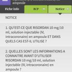 Ntice du médicament destinée au patient