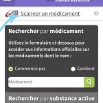 site mobile de medicament.gouv