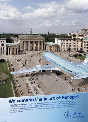 Berliner Flughäfen machen beste Airport-Werbung weltweit