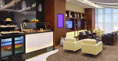 Zutritt zur Lounge von Etihad Airways